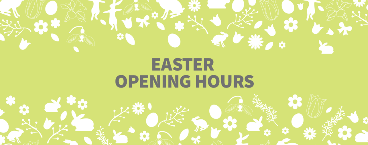 easter opeming hours banner